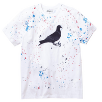 Drip Embroidered Pigeon Tee
