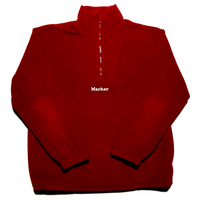 Marker fleece - Red