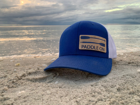 beach true north hat paddle on