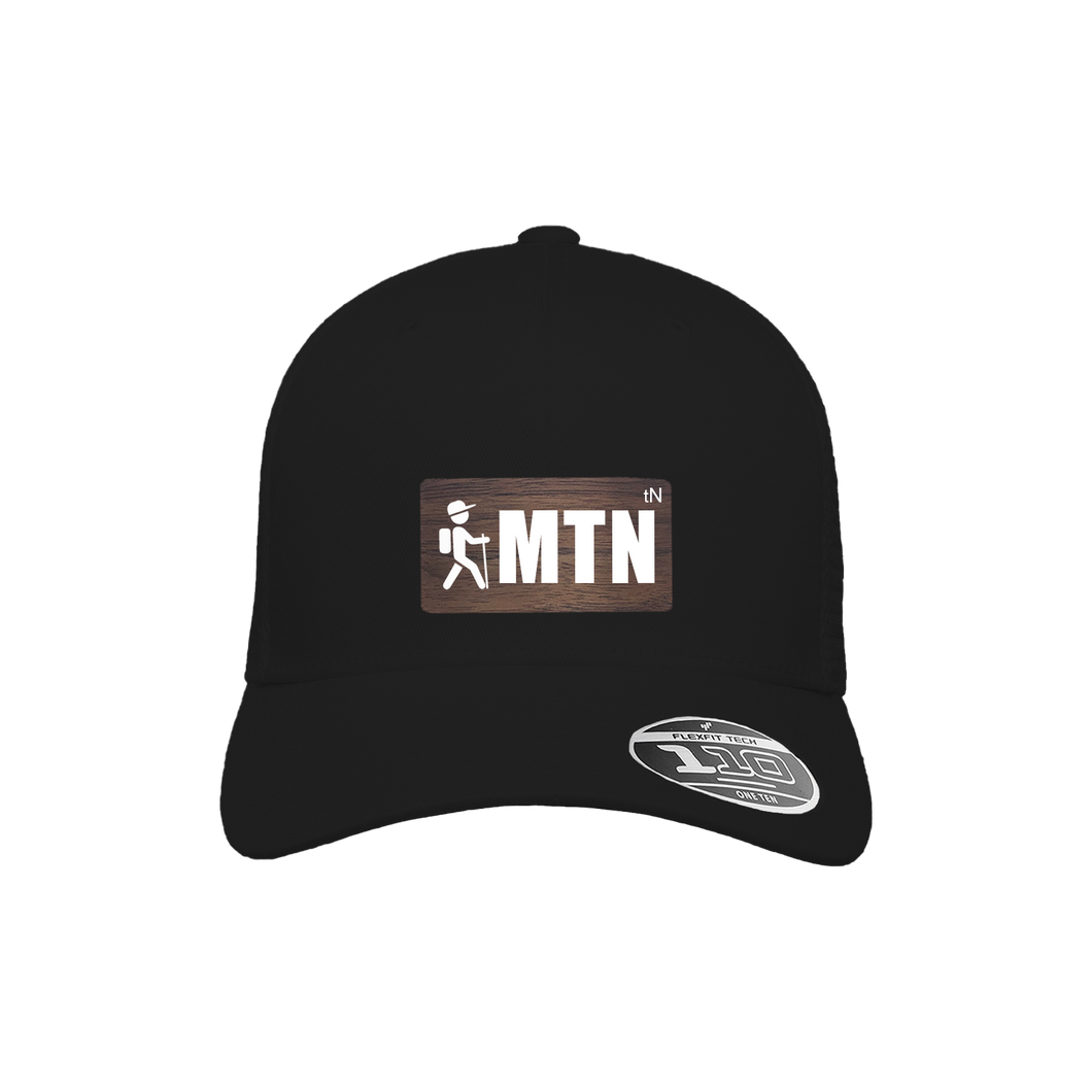 MTN Hiker Black Flexfit Snapback Trucker