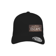 Load image into Gallery viewer, Escape Black Flexfit Snapback Trucker