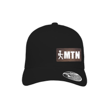Load image into Gallery viewer, MTN Hiker Black Flexfit Snapback Trucker