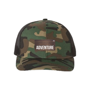 Adventure Green Camo Snapback Trucker