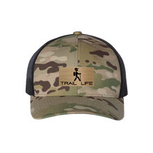 Load image into Gallery viewer, Trail Life Multi Camo Snapback Trucker