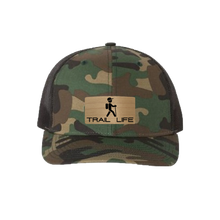 Load image into Gallery viewer, Trail Life Green Camo Snapback Trucker