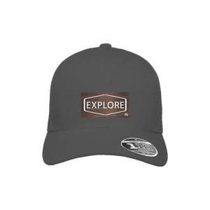 Explore Charcoal Flexfit Snapback Trucker