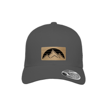 Load image into Gallery viewer, Sunset Mountain Charcoal Flexfit Snapback Trucker