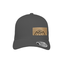 Load image into Gallery viewer, Mountain Sunrise Charcoal Flexfit Snapback Trucker
