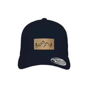 Backcountry Navy Flexfit Snapback Trucker