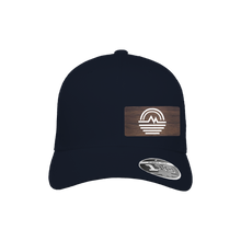 Load image into Gallery viewer, Mountain Stream Navy Flexfit Snapback Trucker