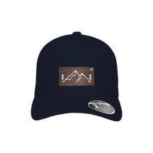 Load image into Gallery viewer, Backcountry Navy Flexfit Snapback Trucker