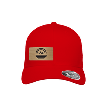 Load image into Gallery viewer, Mountain Stream Red Flexfit Snapback Trucker