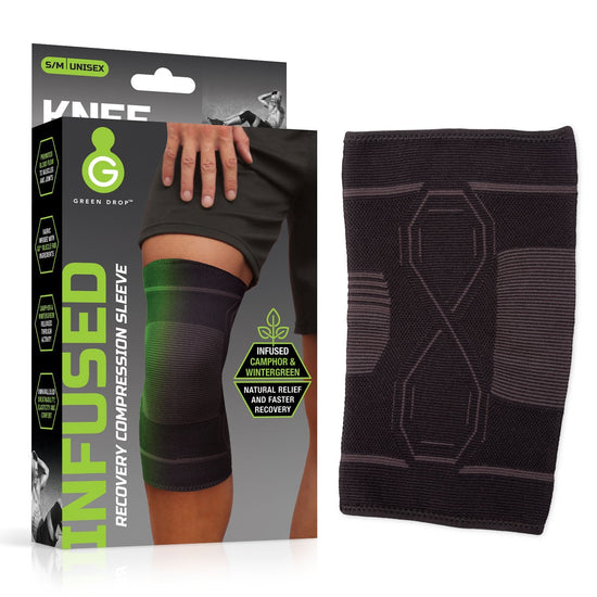 GREEN DROP Knee Compression Sleeve