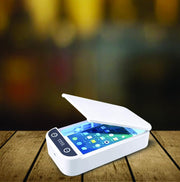 White UV-C Phone Sanitizer