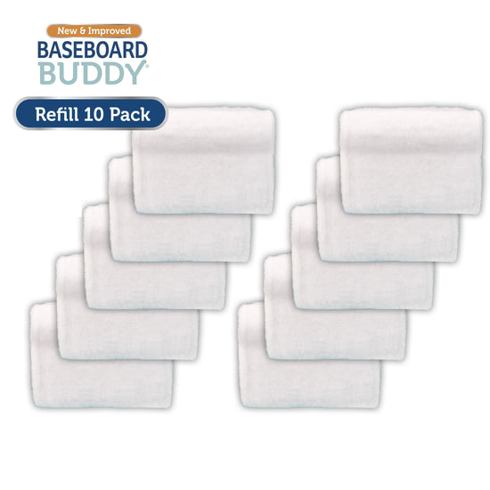 Baseboard Buddy 10 Pack Refill Cleaning Heads