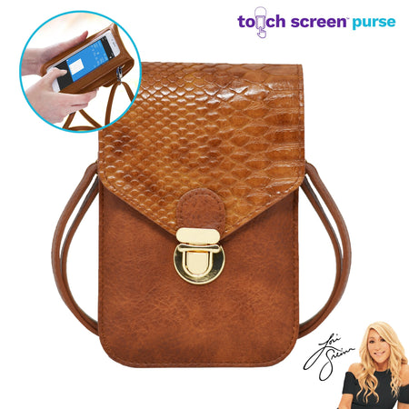 Touch Screen™ Purse - Snake - Use Your Phone While Keeping It Safe And Protected!