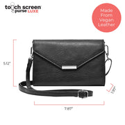 Touch Screen™ Purse LUX - Black - Use Your Phone While Keeping It Safe & Protected!