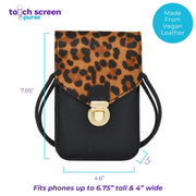 Touch Screen™ Purse - Leopard - Use Your Phone While Keeping It Safe And Protected!