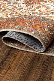 Zahara Amber Washable Rug