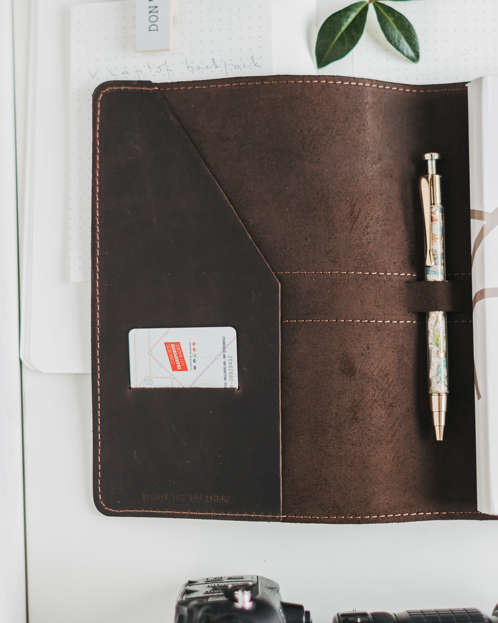 Leather Notebook Engraved