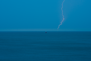 """Buoy No.370, Lightening Buoy"""