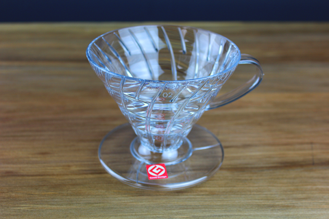 Hario V60 Drip Brewer 02 Clear Plastic