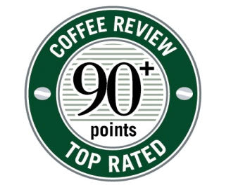 90+ Coffee Review Score