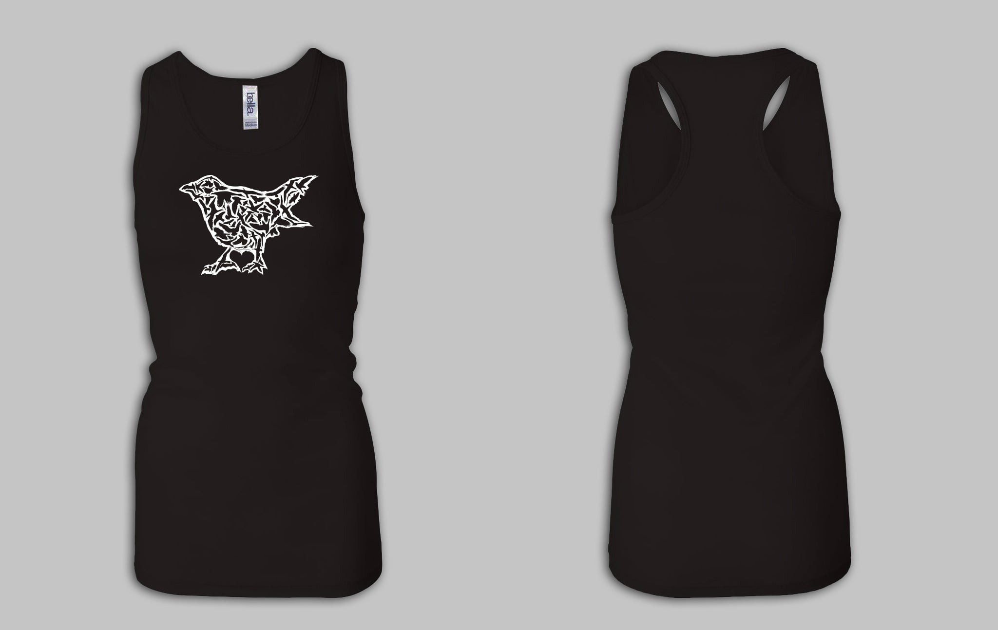 Blackbird Ordinary Multi Bird Women's Tank Top