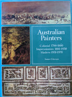 AUSTRALIAN PAINTERS  1788-1970 James Gleeson