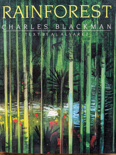 Rainforest Charles Blackman text by Al Alvarez