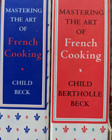 Mastering the Art of French Cooking by Simone Beck and Louisette Bertholle,  and Julia Child