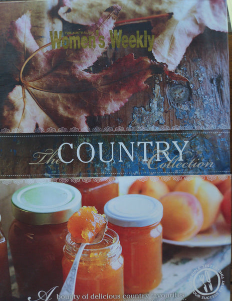 AWW The Country Collection - Australian Womens Weekly  hardcover recipe book