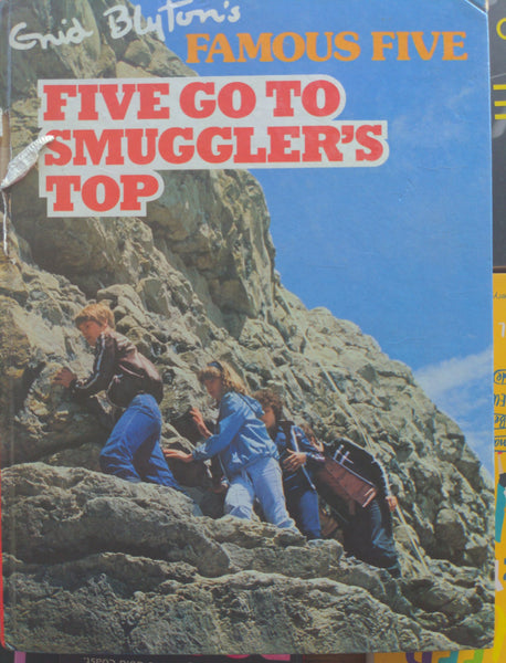 Five Go to Smuggler's Top by  Enid Blyton.