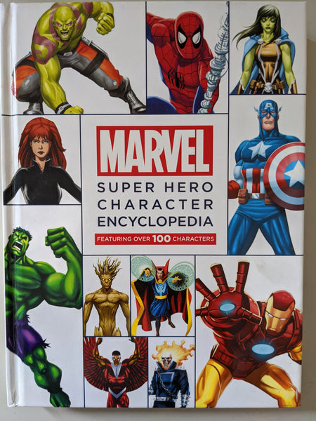 Marvel Super Hero Character Encyclopedia Mega Edition