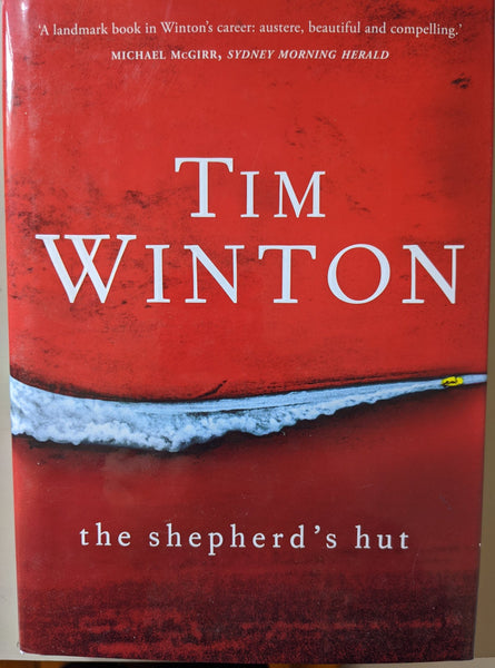 Shepherd's Hut by Tim Winton signed by author