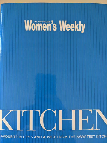 Kitchen An Australian Women's Weekly cookbook