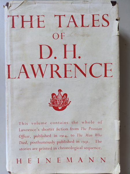 The Tales of D H Lawrence - Hardcover 1948