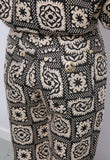 Rare Vintage 90's Moschino Two Piece Woven Jacket Trousers