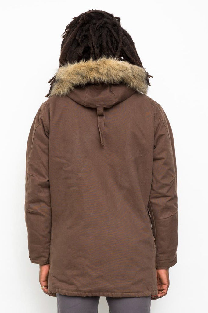 Brown Classic Carhartt Hooded Jacket / Coat