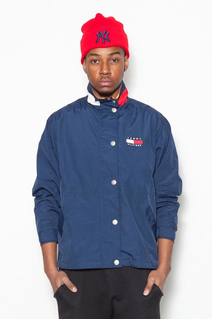 90's Tommy Hilfiger Logo Windbreaker Jacket