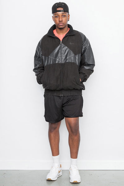 90's Black Karl Kani Windbreaker Jacket