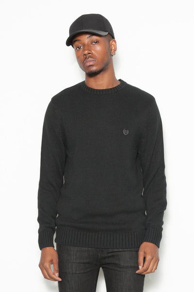 90's Black Ralph Lauren Chaps Cotton Winter Jumper