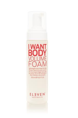 I Want Body Volume Foam
