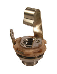 "Switchcraft L11 Long Thread Open Jack - 1/4"" Female"
