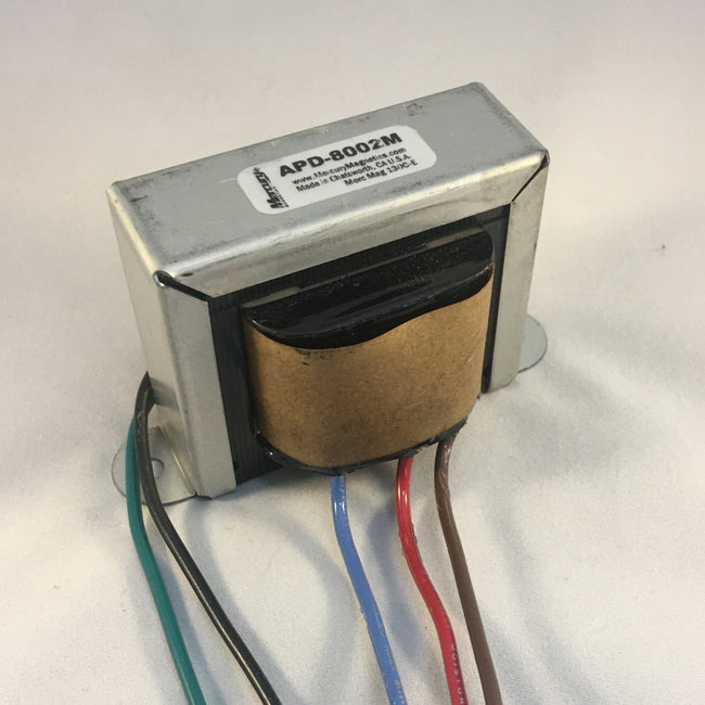 Blackfront Deluxe Style Output Transformer - APD-8002M by Mercury Magnetics (Upgrade of 40-18002)