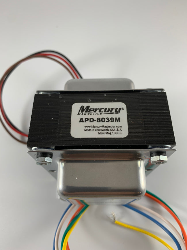 Marshall JTM45 Style 45W Output Transformer 4/8/16 Ohm - APD-8039M by Mercury Magnetics (Upgrade of 40-18039)
