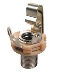 "Switchcraft L12A Long Thread Shorting Jack - 1/4"" Female"