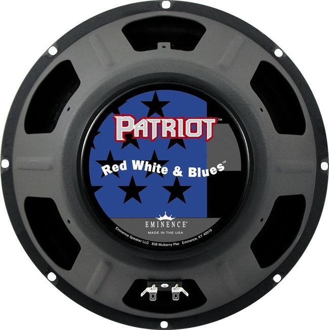 "Eminence Patriot Red, White & Blues 12"" - 8 ohm Speaker"