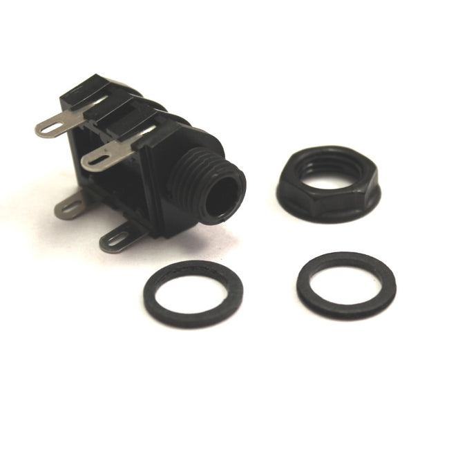 Cliff 2 Pole Solder Black Nut
