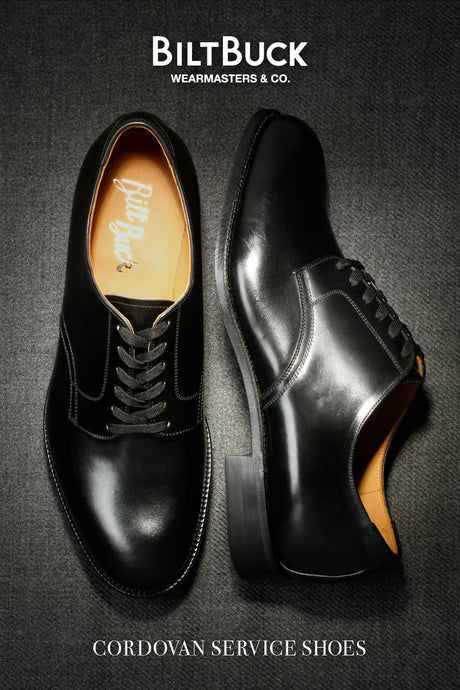 【BILTBUCK】Lot.671 Cordovan Service Shoes